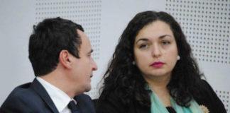 Albin Kurti, Vjosa Osmani, dy prej kandidatëve për kryeministër